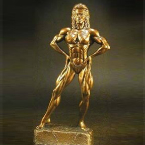 Bodybuilding Figurine - 12 Inches Tall