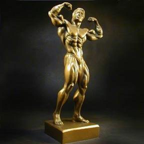 Bodybuilding Figurine - 14 Inches Tall