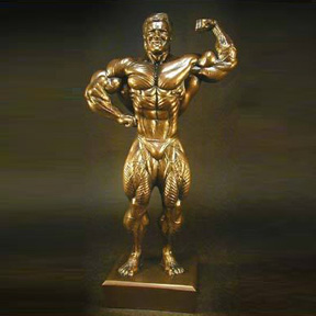 Bodybuilding Figurine - 17 Inches Tall