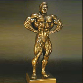 Bodybuilding Figurine 2 - 17 Inches Tall