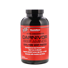 CARNIVOR BEEF AMINO BY MUSCLEMEDS -300 TABS